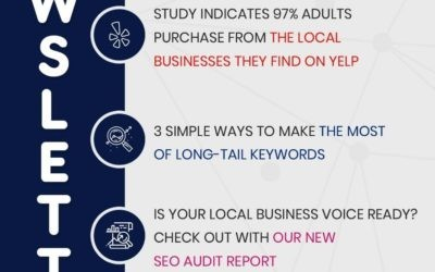 Three (3) simple ways to make the most of long tail keywords – Newsletter November 2019