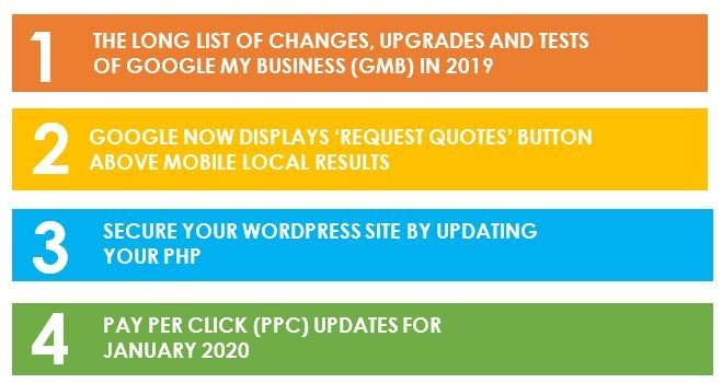SECURE YOUR WORDPRESS SITE BY UPDATING YOUR PHP – Newsletter January 2020, THE LONG LIST OF CHANGES, UPGRADES AND TESTS OF GOOGLE MY BUSINESS (GMB) IN 2019, GOOGLE NOW DISPLAYS 'REQUEST QUOTES' BUTTON ABOVE MOBILE LOCAL RESULTS, SECURE YOUR WORDPRESS SITE BY UPDATING YOUR PHP, PAY PER CLICK (PPC) UPDATES FOR JANUARY 2020, online marketing articles, online marketing courses, seo meaning, seo definition, how to grow my business online, what is digital marketing, strategies to promote business online, google analytics, best marketing courses, online marketing articles, online marketing courses, online business idea, how to make big money online, how to earn money online, check google rank, how to promote business using google, what is digital marketing, strategies to promote business online, tips to become succecssful entrepreneurs, basic seo, how to get positive reviews for your business, how to make big money online, how to earn money online, check google rank, how to promote business using google, what is digital marketing, strategies to promote business online, tips to become succecssful entrepreneurs, best online marketing course, free online marketing course, free online marketing training, how to market my business in social media,tips to become successful entrepreneurs, pinterest account creation, social media marketing benefits, what is digital marketing, strategies to promote business online, google analytics, how to market my business in social media,tips to become successful entrepreneurs