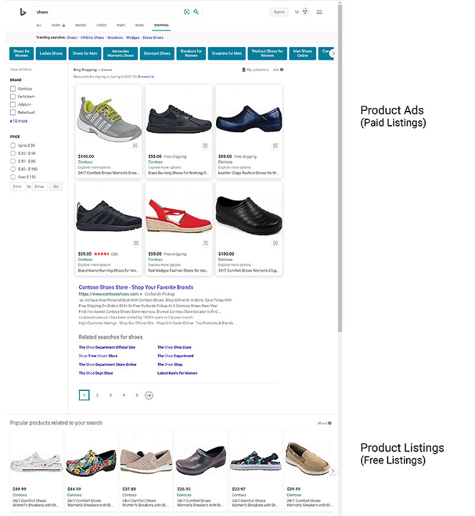 FREE PRODUCT LISTING NOW ENABLED IN THE BING SHOPPING TAB. Looking at the growing popularity of online retail shopping, Microsoft Advertising is now looking out for ways to help retail partners make the most of this change.