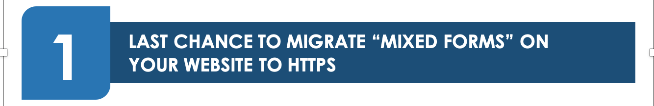 """Last Chance To Migrate """"Mixed Forms"""" On Your Website To Https - Google revealed how it plans to protect Google Chrome users from submitting insecure forms, beginning in Chrome M86. The search engine giant announced that the new update will warn users against completing forms on secure (HTTPS) webpages that fail to submit securely"""